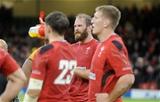 08.11.14 - Wales v Australia - Dove Men Series 2014 - Alun Wyn Jones of Wales looks dejected. © Huw Evans Picture Agency