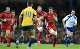 Sam Warburton charges with ball in hand
