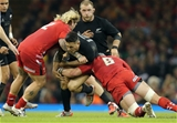 22.11.14 -  Wales v New Zealand, Dove Men Series 2014, Cardiff - 