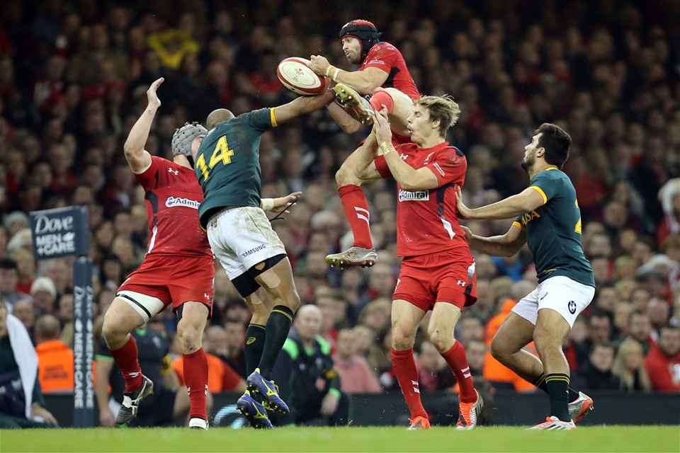 29.11.14 - Wales v South Africa, Dove Men Series 2014, Cardiff - 