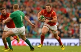 29.08.15 - Ireland v Wales - Guinness Summer Series -George North of Wales.