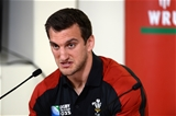 31.08.15 - Wales Rugby World Cup Squad Announcement -Wales captain Sam Warburton during the naming of the Wales Rugby World Cup Squad.
