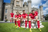 01.09.15 - Wales Rugby World Cup Squad 2015 -Matthew Morgan, Rhys Webb and Gareth Davies.