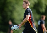 15.09.15 -  Wales Rugby World Cup Training -Liam Williams during training.