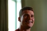 16.09.15 - Wales Rugby World Cup Media Interviews -Scott Williams talks to media.