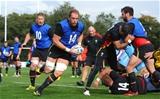 16.09.15 - Wales Rugby World Cup Training -Alun Wyn Jones during training.