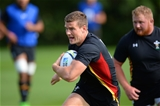 16.09.15 - Wales Rugby World Cup Training -Scott Williams during training.