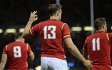 20.09.15 - Wales v Uruguay, Rugby World Cup 2015 - Cory Allen of Wales after scoring his third try