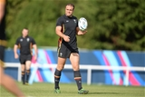 24.09.15 - Wales Rugby World Cup Training -Jamie Roberts during training.