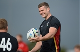 24.09.15 - Wales Rugby World Cup Training -Scott Williams during training.