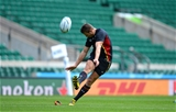 25.09.15 - Wales Rugby World Cup Training -Dan Biggar during training.