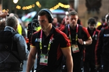 26.09.15 - England v Wales - Rugby World Cup 2015 -George North arrives for the game.