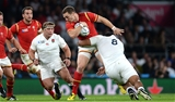 26.09.15 - England v Wales - Rugby World Cup 2015 -George North of Wales is tackled by Billy Vunipola of England.