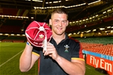 01.10.15 - Wales v Fiji - Rugby World Cup 2015 -Dan Lydiate with his 50th cap.