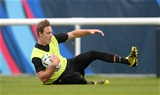 05.10.15 - Wales Rugby Training -Liam Williams during training.