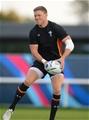 06.10.15 - Wales Rugby Training -Rhys Priestland during training.