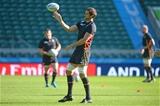 09.10.15 - Wales Rugby Training -Luke Charteris during training.