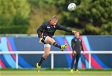 13.10.15 - Wales Rugby Training -Gareth Anscombe during training.
