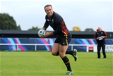 15.10.15 - Wales Rugby Training -Jamie Roberts during training.