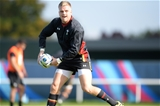 15.10.15 - Wales Rugby Training -Gareth Anscombe during training.