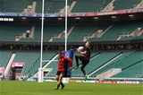16.10.15 - Wales Rugby Training -Rhys Priestland during training.