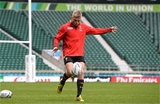 16.10.15 - Wales Rugby Training -Gareth Anscombe during training.