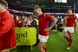 17.10.15 - South Africa v Wales - Rugby World Cup Quarter Final 2015 -Gareth Anscombe of Wales look dejected at the end of the game.