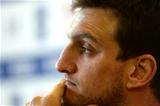 11.02.16 - Wales Rugby Team Announcement -Sam Warburton talks to media.