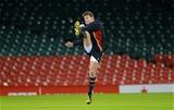 12.02.16 - Wales Rugby Training -Dan Biggar during training.