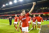 13.02.16 - Wales v Scotland - RBS 6 Nations 2016 -Sam Warburton of Wales at the end of the game.