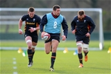 16.02.16 - Wales Rugby Training -Justin Tipuric during training.