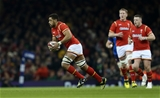 26.02.16 - Wales v France - RBS 6 Nations - Taulupe Faletau of Wales carries the ball forward.