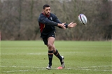 01.03.16 - Wales Rugby Training - Taulupe Faletau during training.