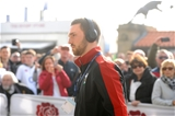 12.03.16 - England v Wales - RBS 6 Nations 2016 -George North arrives.