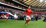 12.03.16 - England v Wales - RBS 6 Nations 2016 -Sam Warburton of Wales leads out his side.