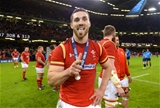 19.03.16 - Wales v Italy - RBS 6 Nations 2016 -George North at the end of the game.