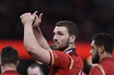 19.03.16 - Wales v Italy - RBS 6 Nations -George North of Wales applauds the crowd after the final whistle