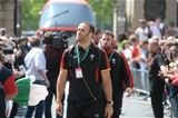 29.05.16 - England v Wales - Old Mutual Wealth Cup -Jamie Roberts arrives.