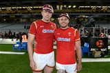 11.06.16 - New Zealand v Wales - Steinlager Series 2016 -Alun Wyn Jones and Ellis Jenkins after receiving their 1st and 100th caps.