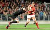 25.06.16 - New Zealand v Wales - Steinlager Series, Third Test -Ross Moriarty of Wales is tackled by Kieran Read of New Zealand.