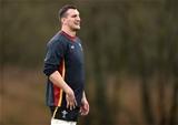 02.02.17 - Wales Rugby Training -Sam Warburton during training.