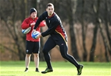 02.02.17 - Wales Rugby Training -George North during training.