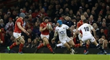 11.02.17 - Wales v England - RBS 6 Nations Championship - Rob Evans of Wales runs with the ball.