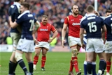 25.02.17 - Scotland v Wales - RBS 6 Nations Championship - Dejected Samson Lee of Wales.