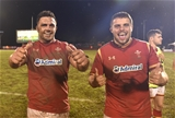 23.06.17 - Samoa v Wales -Ellis Jenkins and Nicky Smith of Wales at the end of the game.