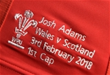 03.02.18 - Wales v Scotland - NatWest 6 Nations 2018 -Josh Adams first cap jersey.