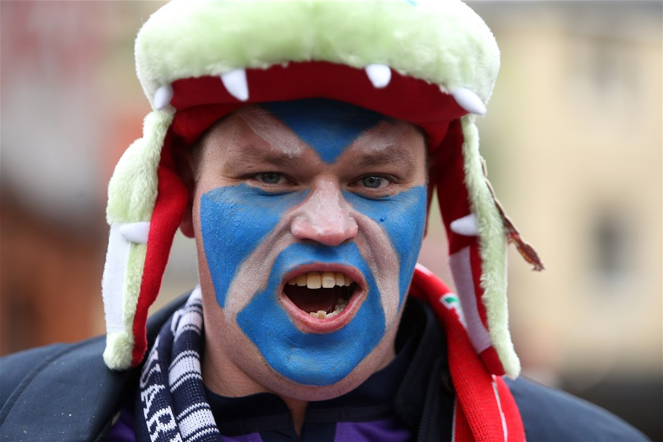 03.02.18 - Wales v Scotland - Natwest 6 Nations - Fans.