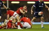 03.02.18 - Wales v Scotland - Natwest 6 Nations - Gareth Davies of Wales.