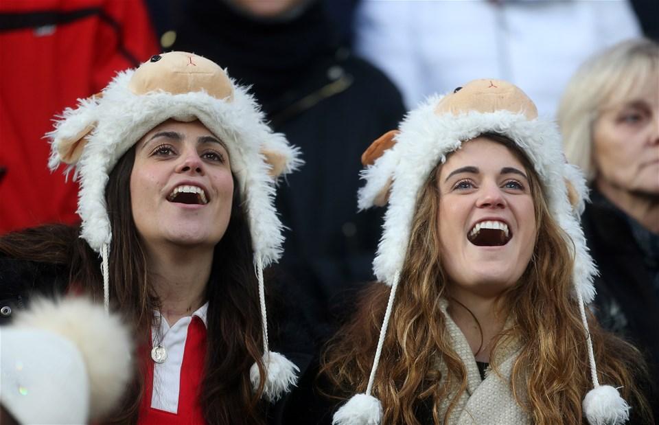 10.02.18 - England v Wales - Natwest 6 Nations - fans.