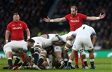 10.02.18 - England v Wales - Natwest 6 Nations - Frustrated Alun Wyn Jones of Wales.